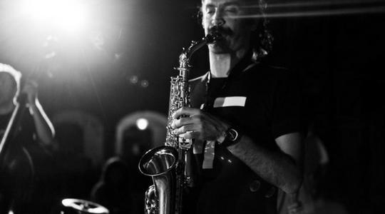 Christian Ferlaino performing live